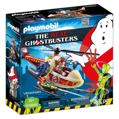 Playmobil Ghostbusters Venkman With Helicopter