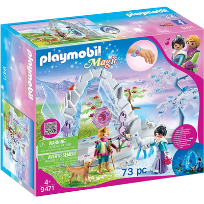 Playmobil Magic Crystal Gate To The Winter World With Lit Gate