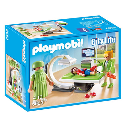 Playmobil City Life X Ray Room
