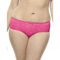 Image of Sculptresse by Panache 6934 Sculptress By Panache Pure Lace Brief 6934 Hot Pink 6934 Hot Pink