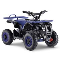 Image of FunBikes Ranger 800w Blue Kids Electric Mini Quad Bike V2