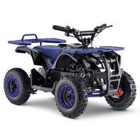 FunBikes Ranger 800w Blue Kids Electric Mini Quad Bike V2