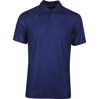 Nike Golf Shirt TW Dry Camo Jacquard Blue Void SS20