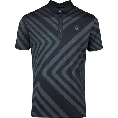 Galvin Green Golf Shirt Malone Black SS20