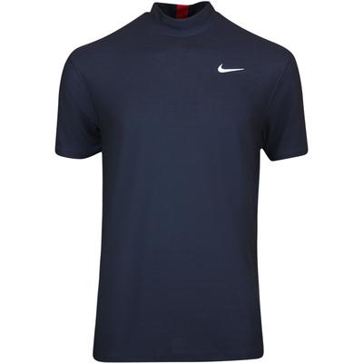 Nike Golf Shirt TW Dry Mock Neck Obsidian SU20