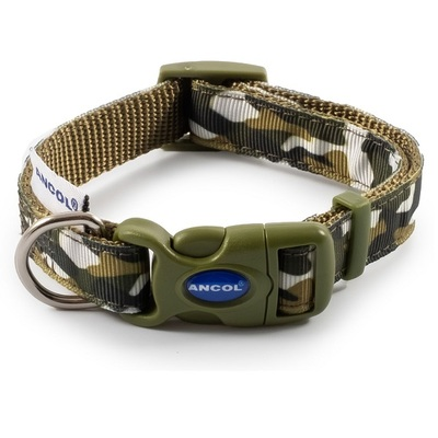 Ancol Combat Camo Adjustable Dog Collar