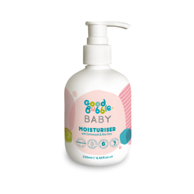 Good Bubble Baby Moisturiser with Cottonseed & Aloe Vera 250ml
