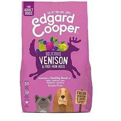 Edgard & Cooper Venison & Duck Dog Kibble 2.5kg