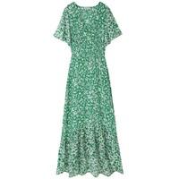 Sage Dress - Blossom Green