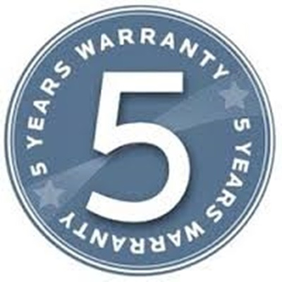5 years on site warranty for ActivTable
