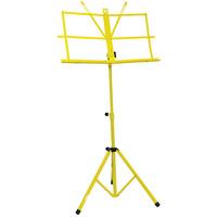 Folding Music Stand - Yellow