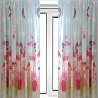 Fairy Castle Curtains 72s