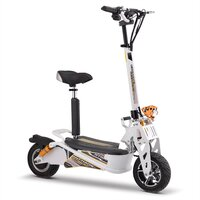 Image of Chaos GT1600 Sport 48v Lithium Hub Drive White Adult Electric Scooter