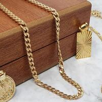 Frame Labradorite Necklace Set