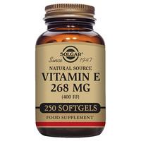 Solgar-Vitamin-E-268mg-Mixed-Tocopherols-250-x-400iu-Softgels
