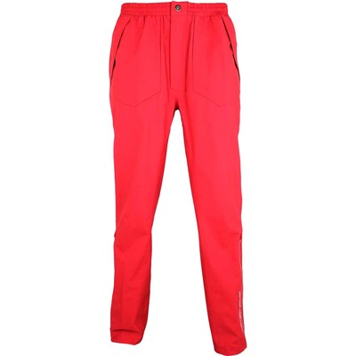 Galvin Green August Waterproof Golf Trousers Electric Red