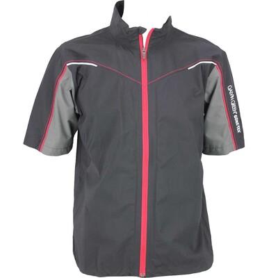 Galvin Green Air Waterproof Golf Jacket Black Gunmetal