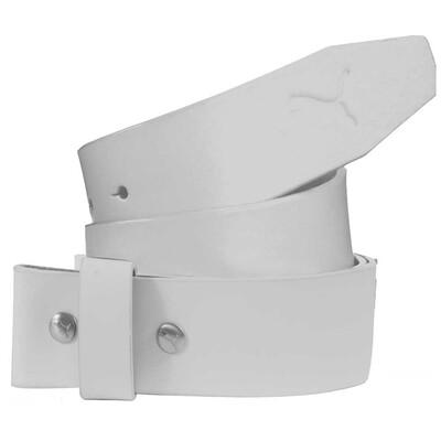 Puma Genuine Leather Golf Belt Strap White AW15