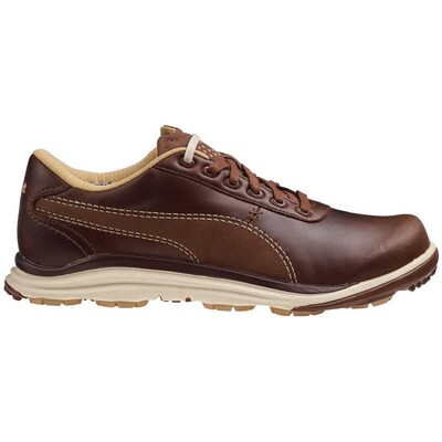 Puma BioDrive Leather Golf Shoes Bison Brown AW15