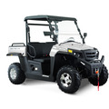 Click to view product details and reviews for Hisun Sector 250cc White Road Legal Off Road Utility Buggy.