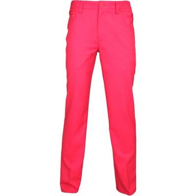 Puma 6 Pocket Golf Trousers Tango Red AW15