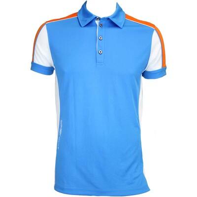 Galvin Green Manning Ventil8 Golf Shirt Summer Sky AW15