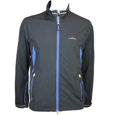 Cherv242 Meteora Aqua Block Waterproof Golf Jacket Black AW15
