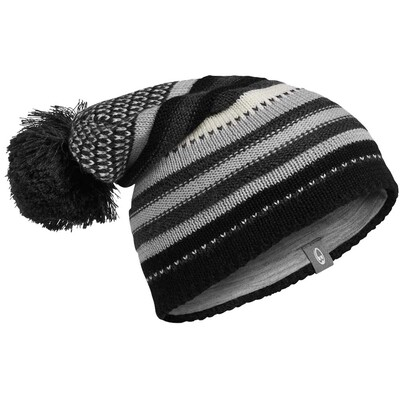 Icebreaker Chateau Golf Beanie Black AW15