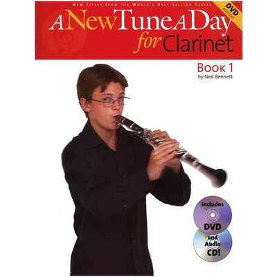 Image of A New Tune A Day Clarinet 1 Book CD&DVD