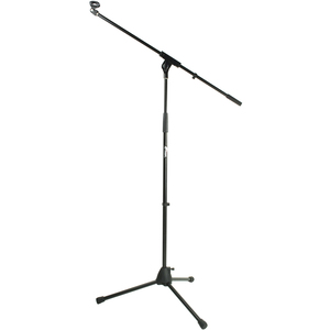 Tiger Mca68 Bk Microphone Boom Stand Mic Stand With Free Mic Clip