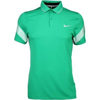 Nike Golf Shirt MM Fly Framing Commander Lucid Green SS16