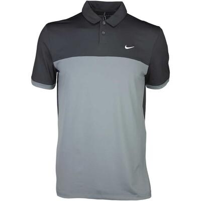 Nike Golf Shirt Icon Colour Block Black SS16
