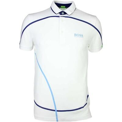 Hugo Boss Golf Shirt Paddy MK Training White SP16