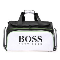 Hugo Boss Bag - Sports Travel Holdall - White - Black - Green 2018