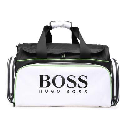 Hugo Boss Bag Sports Travel Holdall White Black Green 2018