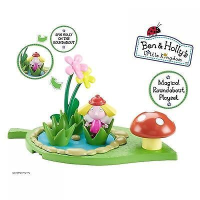 Ben & Holly Magical Playground Playset   Roundabout With Holly
