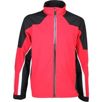 Galvin Green Waterproof Golf Jacket - ARROW Electric Red