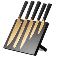 Viners Titan Gold 6pc Knife Block