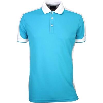 Galvin Green Golf Shirt MOE Lagoon Blue SS16