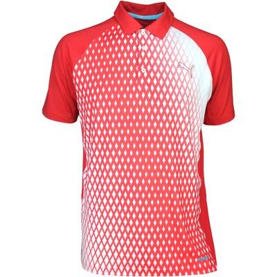 Puma Golf Shirt GT Dimension High Risk Red SS16