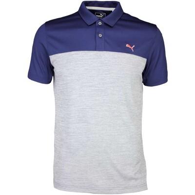 Puma Golf Shirt Tailored Platform Peacoat SS16