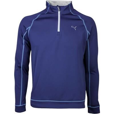 Puma Golf Pullover Fleece Popover Peacoat SS16