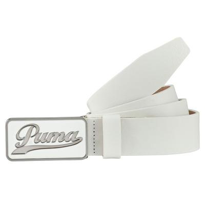Puma Golf Belt Script CTL White AW16