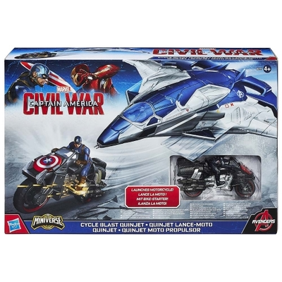 Captain America: Civil War 3 Cycle Blast Quinjet