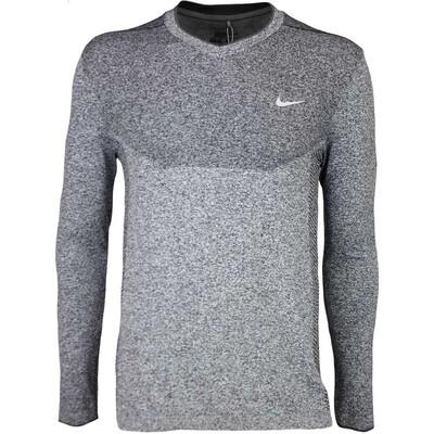 Nike Golf Jumper Flex Knit V Neck Black SS16