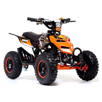 Image of FunBikes 49cc Orange Kids Big Wheel Mini Quad Bike