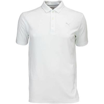 Puma Golf Shirt Cobra Branded Pounce White AW16