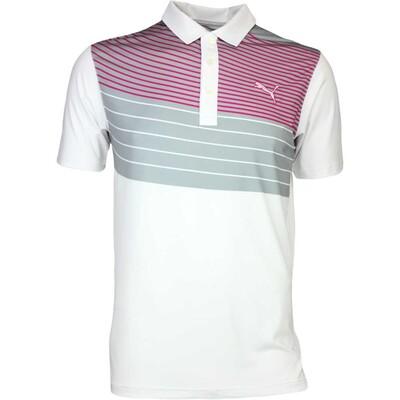 Puma Golf Shirt GT Swoop White AW16