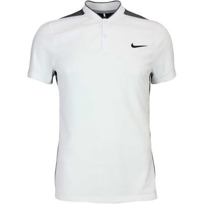 Nike Golf Shirt MM Fly Blade Sphere Blocked White AW16