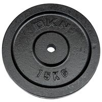Image of DKN Cast Iron Standard Weight Plates - 1 x 15kg
